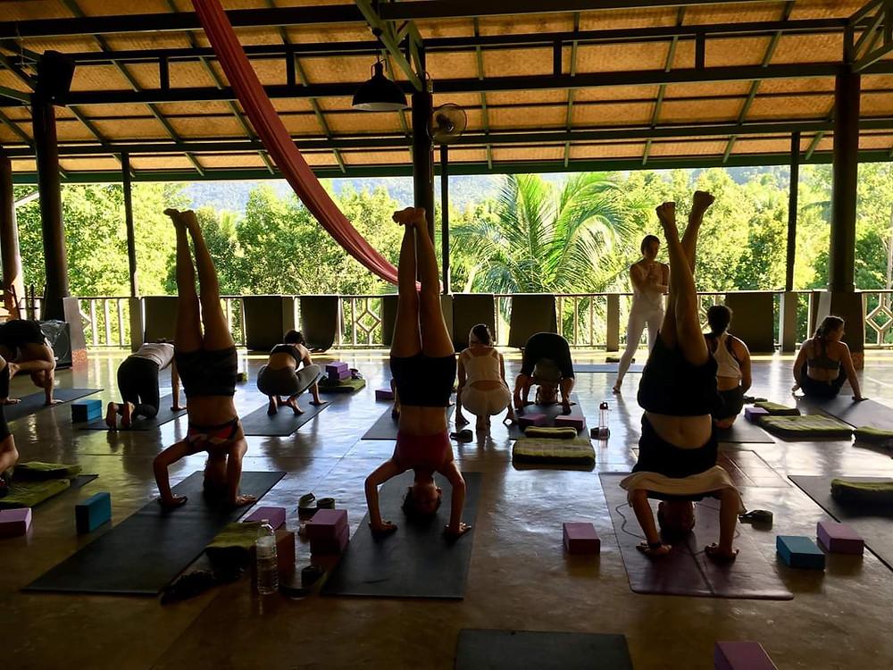 Formation professeur de yoga Thailande