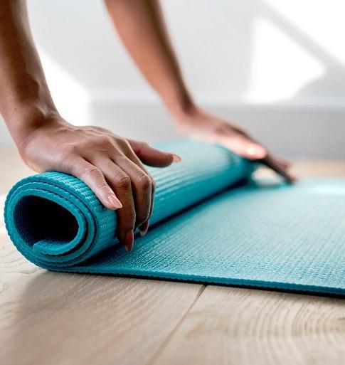 Tapis de yoga cours collectif
