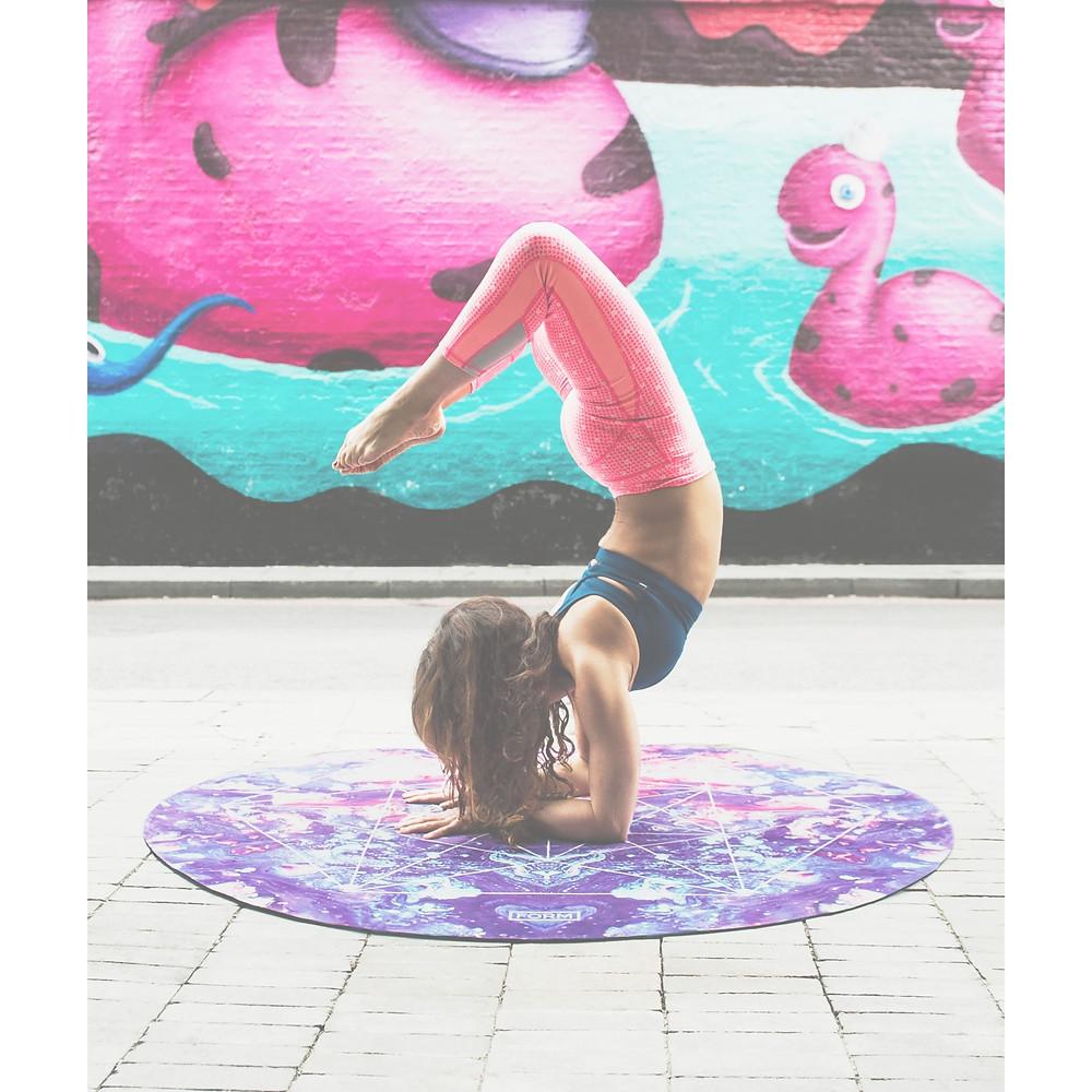 Yoga posture scorpion instagram
