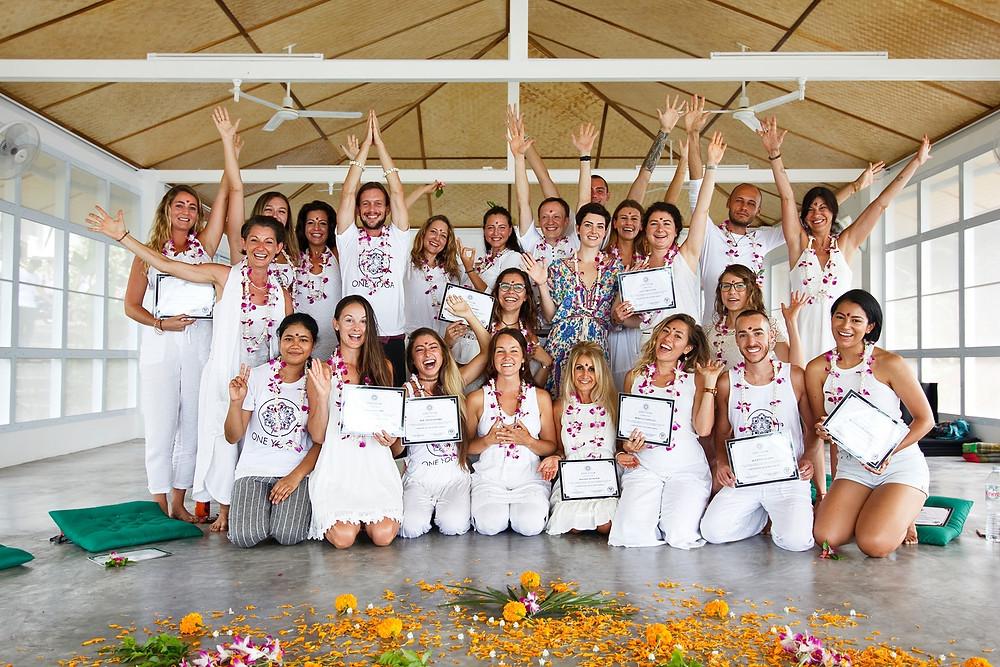 Diplôme Professeur de Yoga Thailande