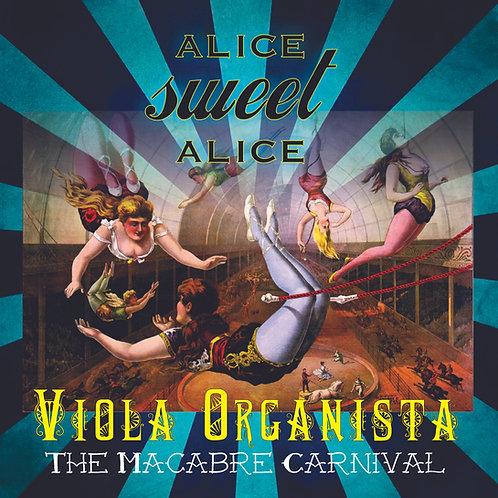 Viola Organista-The Macabre Carnival Digipak