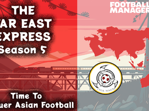 The Far East Express - After a quick stop we are full steam ahead!