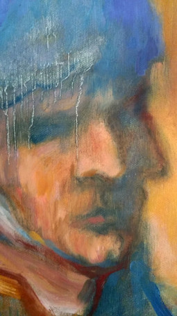 «Il martirio di Van Gogh», detail,  2019