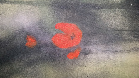 Ophelia - Dettaglio del papavero/Poppy detail