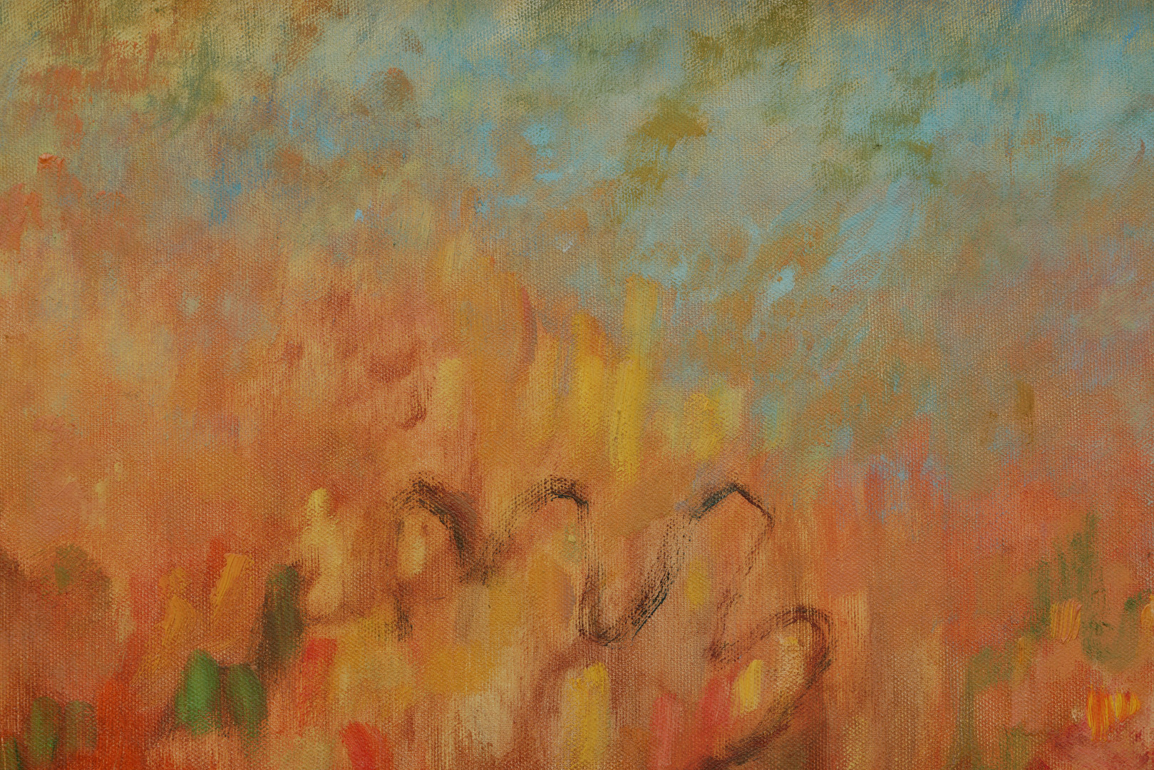 L'espérance (i girasoli di Gaguin), 2019