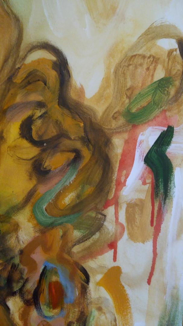 «Omaggio a Vincent VI», detail, 2019