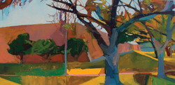 Lyles_ash tree_Oil on Canvas_12 x 24_200