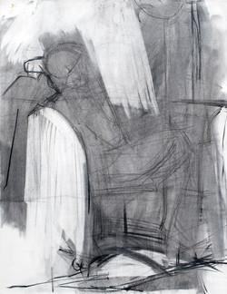 Lyles_roughcut_Charcoal on Paper_18 x 24
