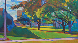 Lyles_Higher Education_Oil on Canvas_24x