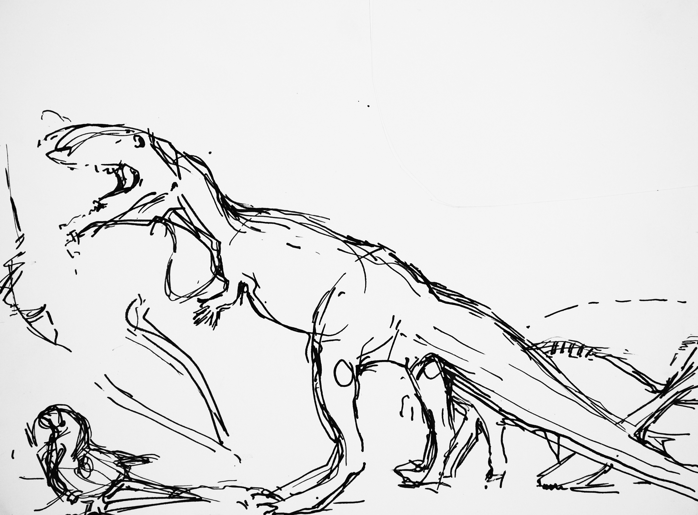 Lyles_Evolution Resolution_Ink on Paper_
