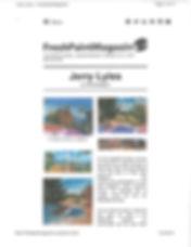 FreshPaintMagazine webpage display inclu
