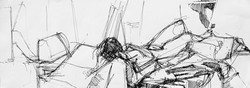 Lyles_reclining figure in ink_Ink on Pap
