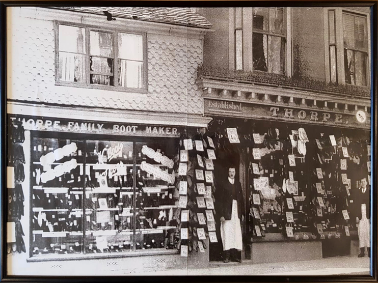 Boots and Shop Front