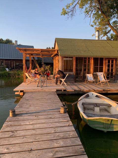 Pomost i sauna