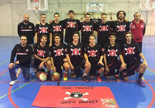 1ª Autonomica Piratas Soto Basket 2015/16