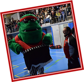 Mascota Piratas Soto Basket
