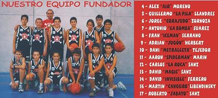 Equipo fundador Piratas Soto Basket