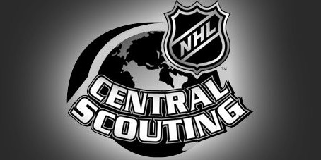 Nine players rated on NHL Central Scouting list