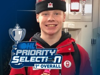 Ty Nelson selected 1st overall in OHL Draft