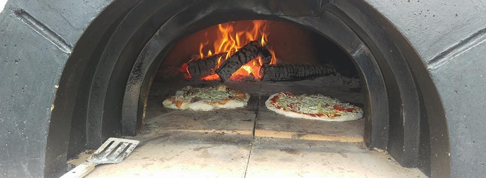 Dejlig stenbagt pizza ala Riverside