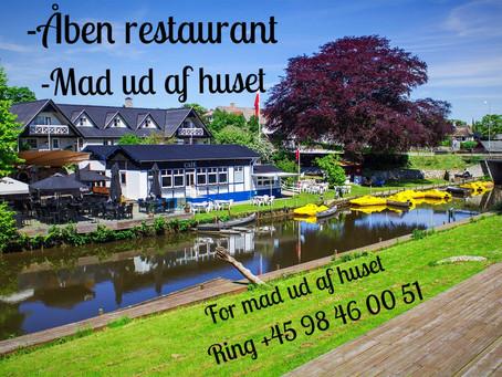 Åben Restaurant! -                     Lørdag 28.04.2018