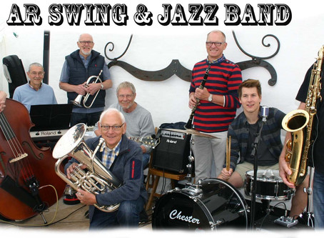 "SWING AFTEN MED BUFFET MED ""AR SWING BAND"""