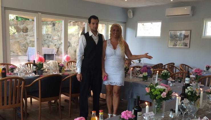 Hvorfor ikke fejre bryllupet i vores lokaler...
