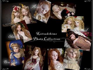 恋月姫人形 生写真セットを販売開始いたしました!