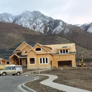 New construction.  Window replacment Utah. Windows Utah Valley.