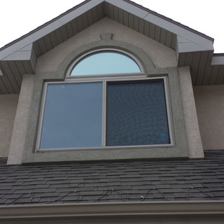 Arch top slider.  Window replacment Utah. Windows Utah Valley.