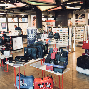 BOUTIQUE STORE IN WROCLAW AIRPORT, POLAND