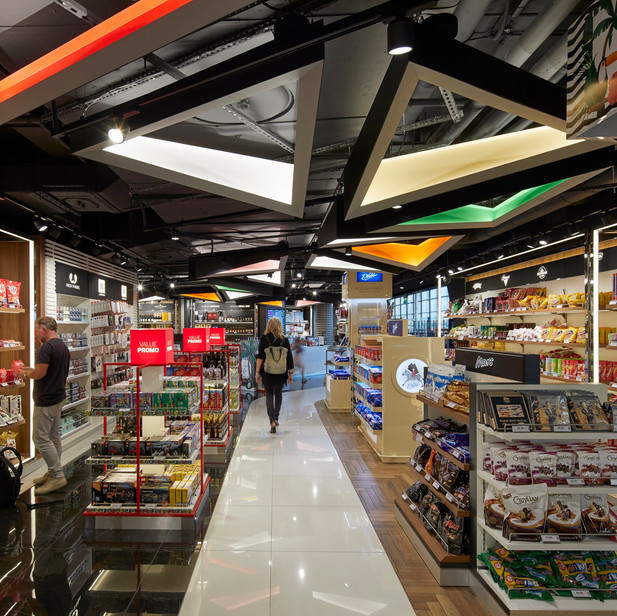 INTERNATIONAL STORE IN WROCLAW AIRPORT, POLAND