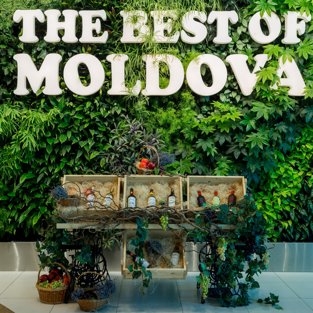 THE BEST OF MOLDOVA SHOP IN CHISINAU AIRPORT, MOLDOVA
