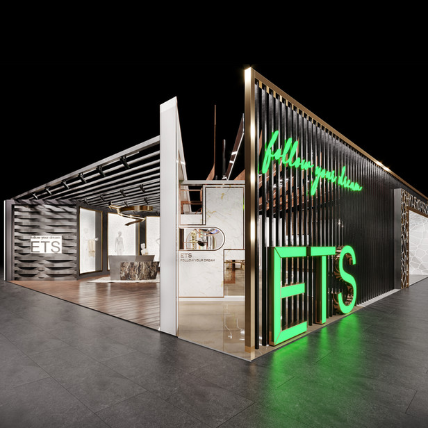 EUROSHOP 2020 EXHIBITION STAND FOR ETS