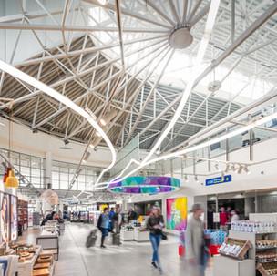 DUTY FREE SHOP, VILNIUS AIRPORT, LITHUANIA