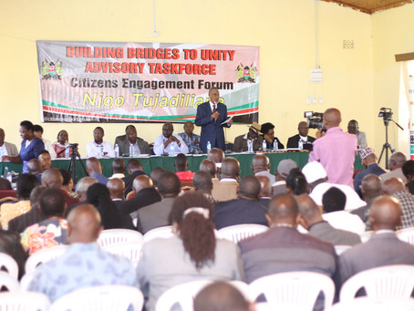 Ruto-allied lawmakers say committed to implementation of BBI report ( Capital FM )