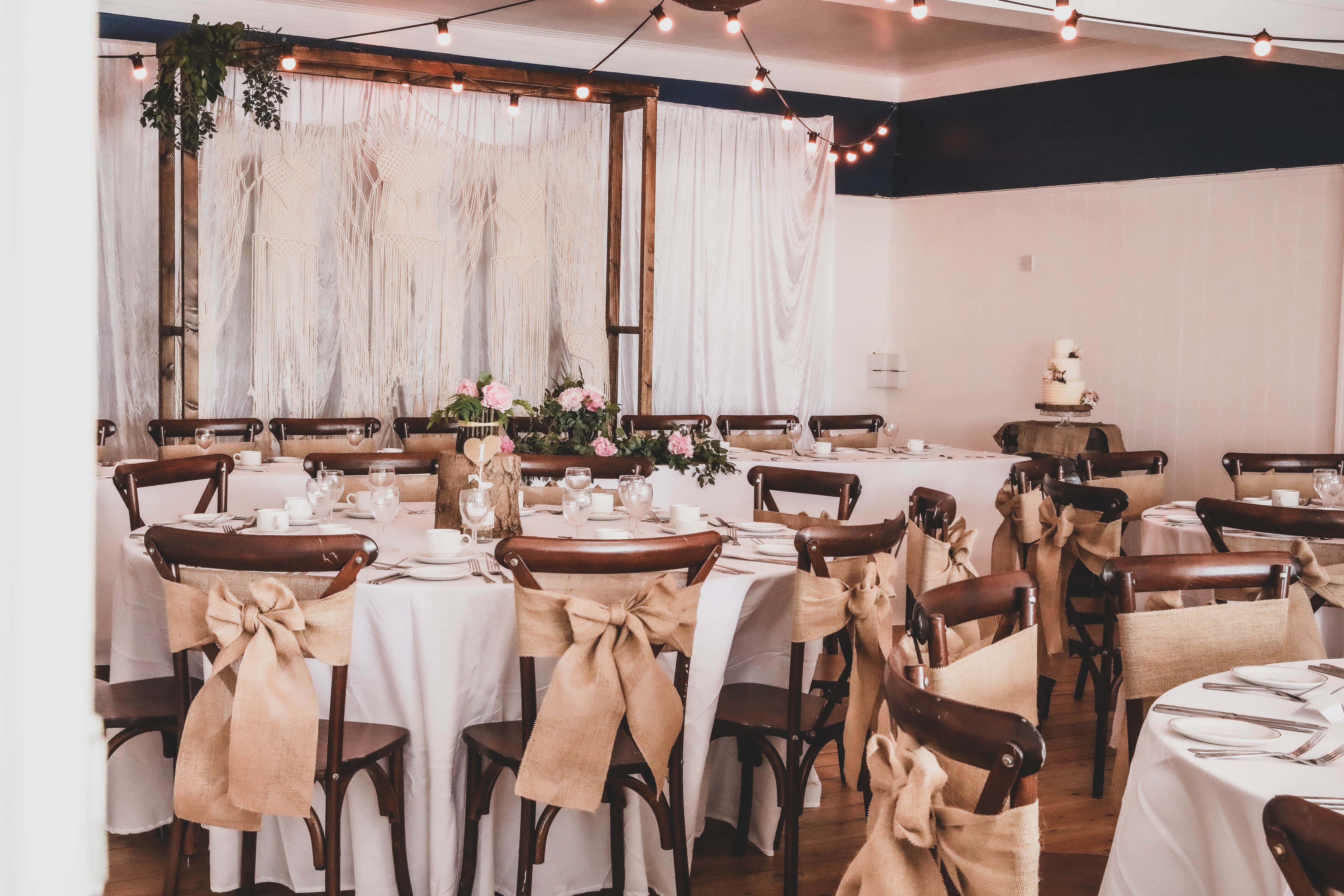 Beautiful Rustic Styling - The Carousel Rooms