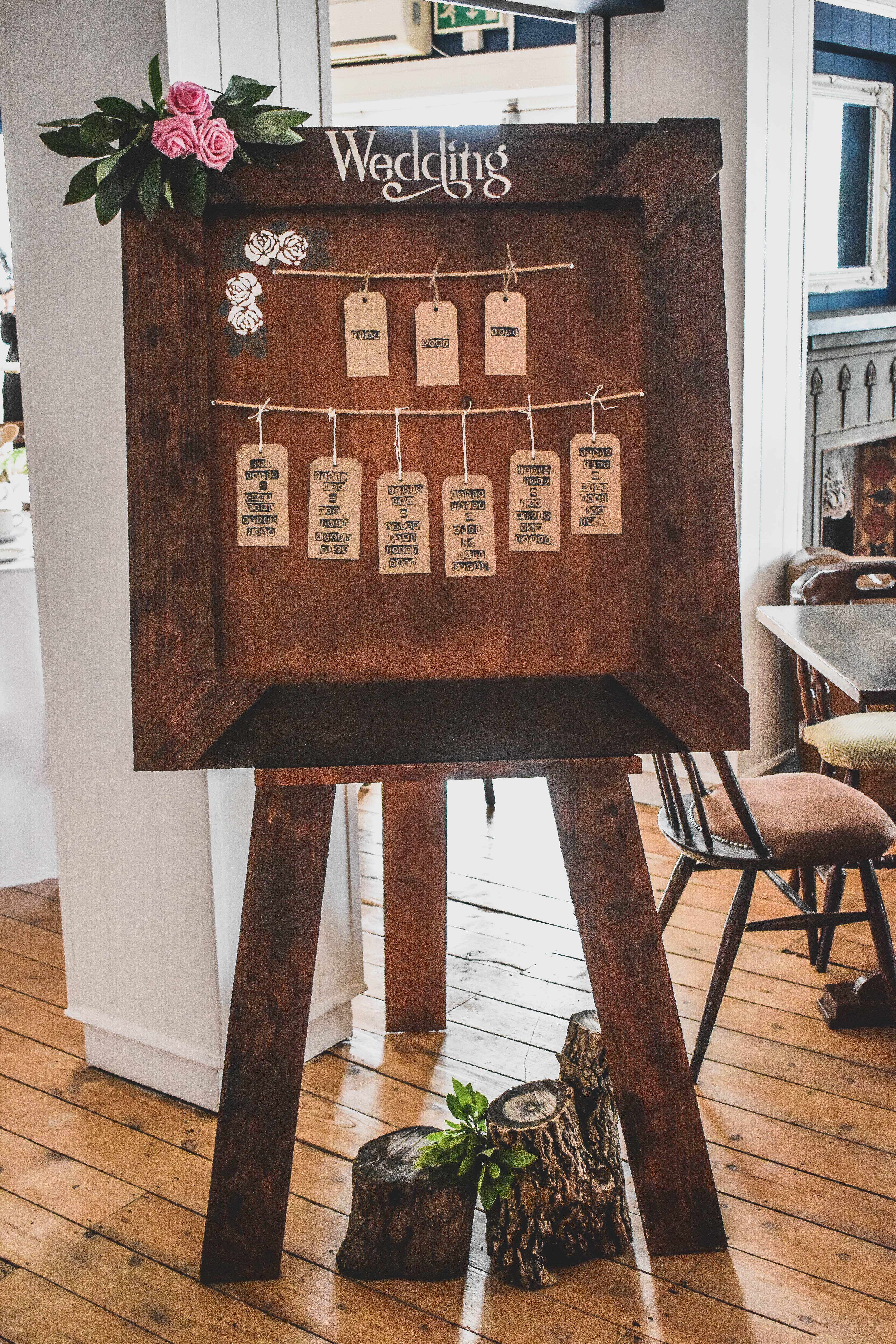 Tables, Table Plans & Easels