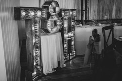 Rustic Wooden Light Up Letters
