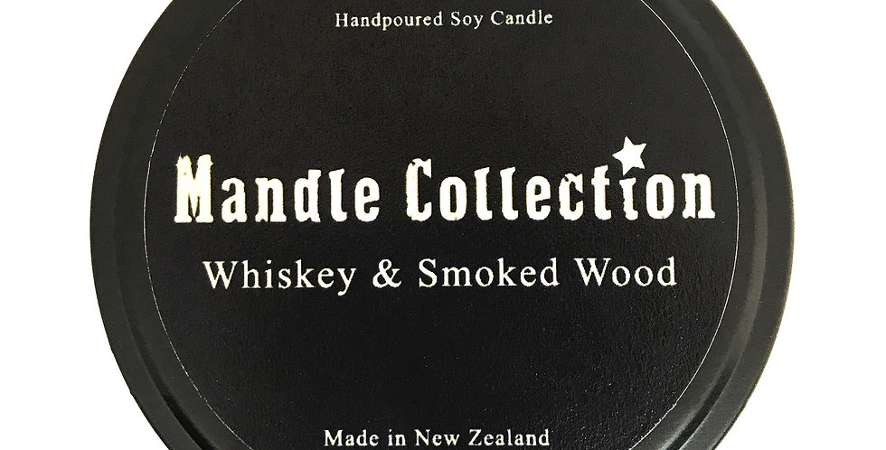 MANDLE Collection | Whiskey & Smoked Wood | Travel Tin