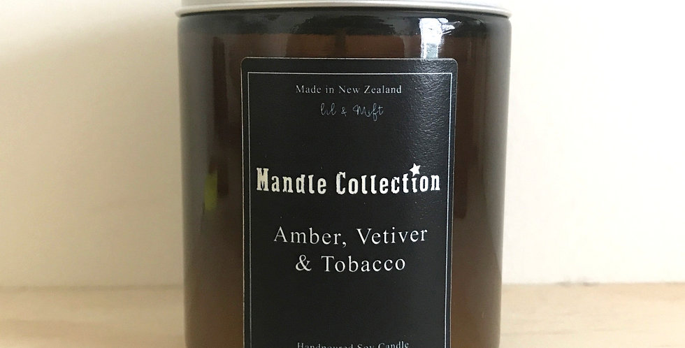 MANDLE Collection | Amber, Vetiver and Tobacco