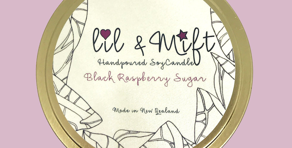 Lil Lux | Black Raspberry Sugar | Travel Tin