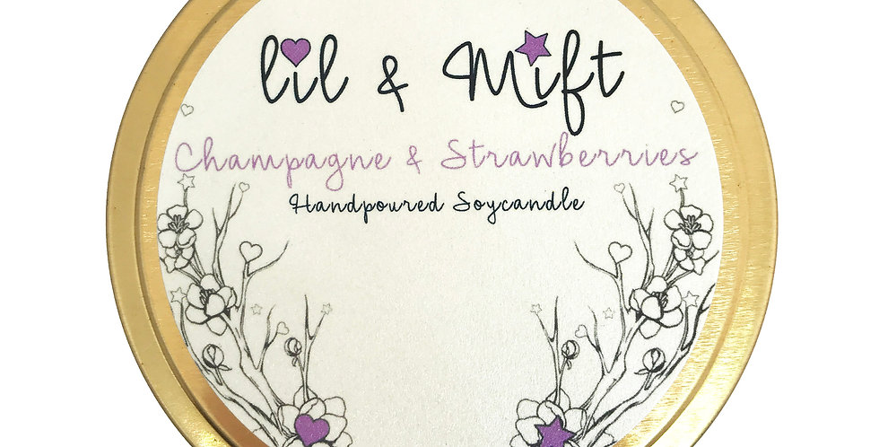 Lil Lux | Champagne & Strawberries | Travel Tin