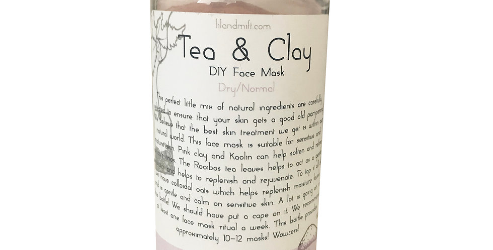Tea & Clay | Rooibos & Pink