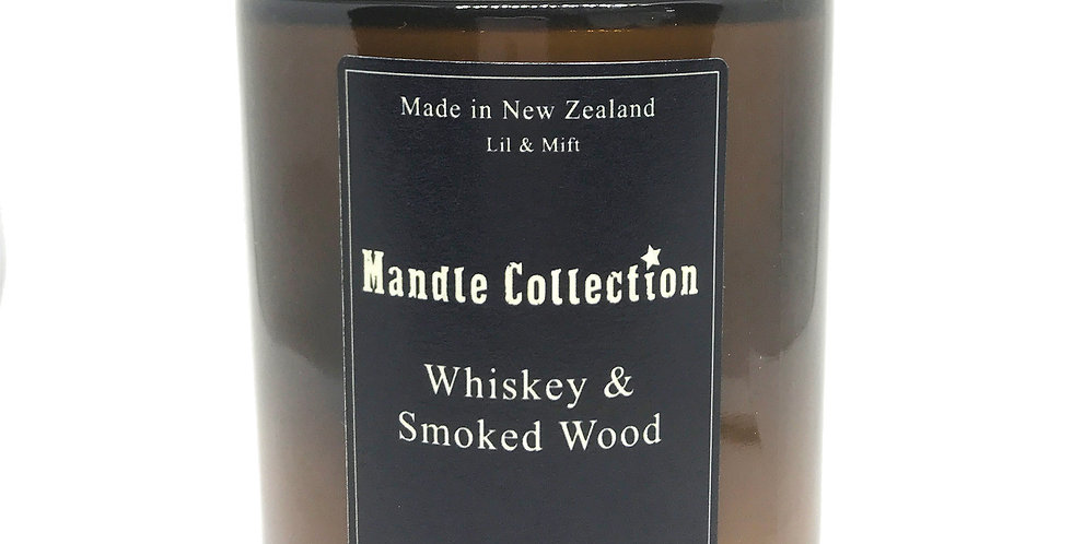 MANDLE Collection | Whiskey and Smoked Wood