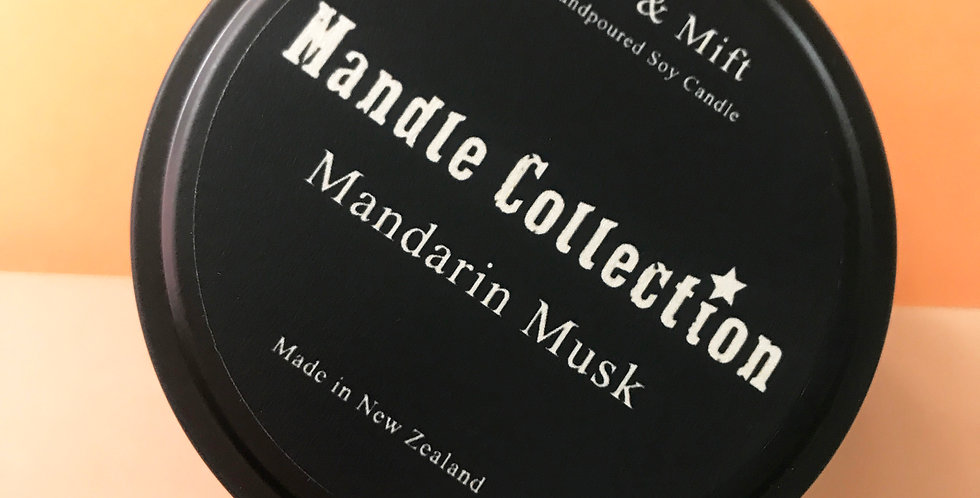 MANDLE Collection | Mandarin Musk | Travel Tin