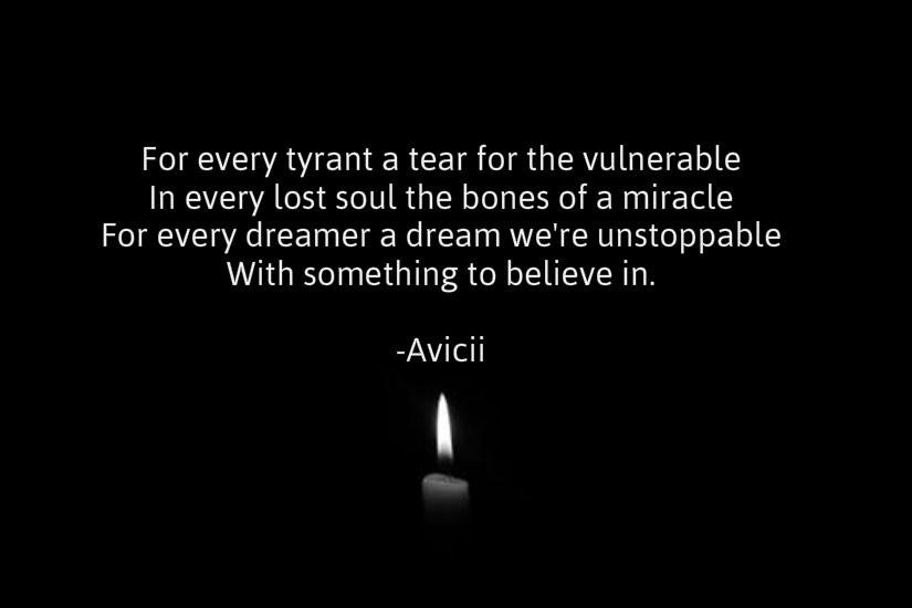 Consider, Avicci. By guest blogger, Sera Alper.