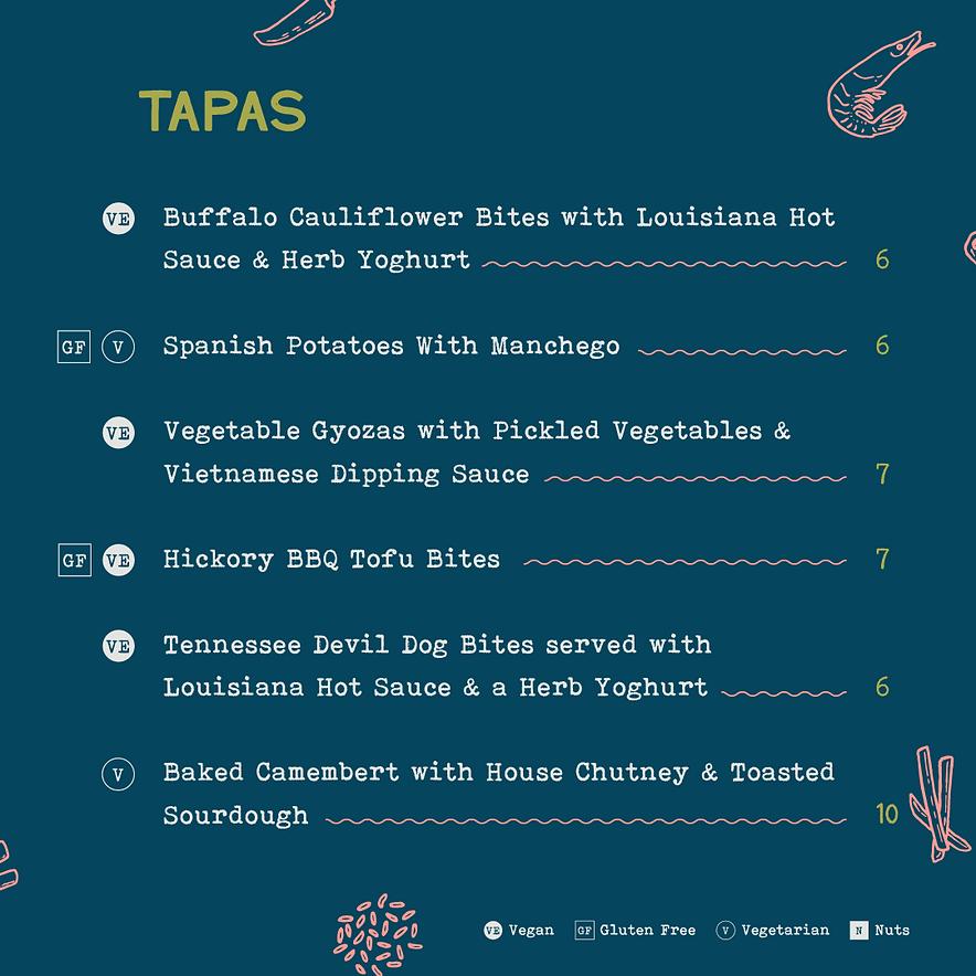 Bohemia - Street food menu - 2021 03 - I