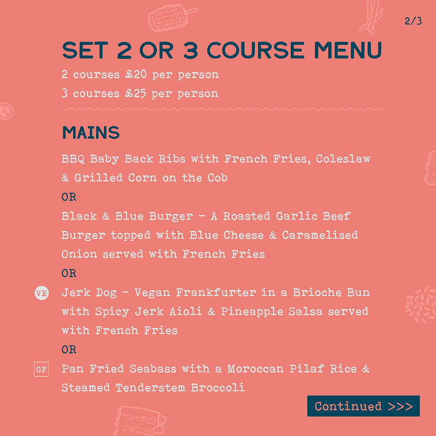 Bohemia - Street food menu - 2021 02 - I