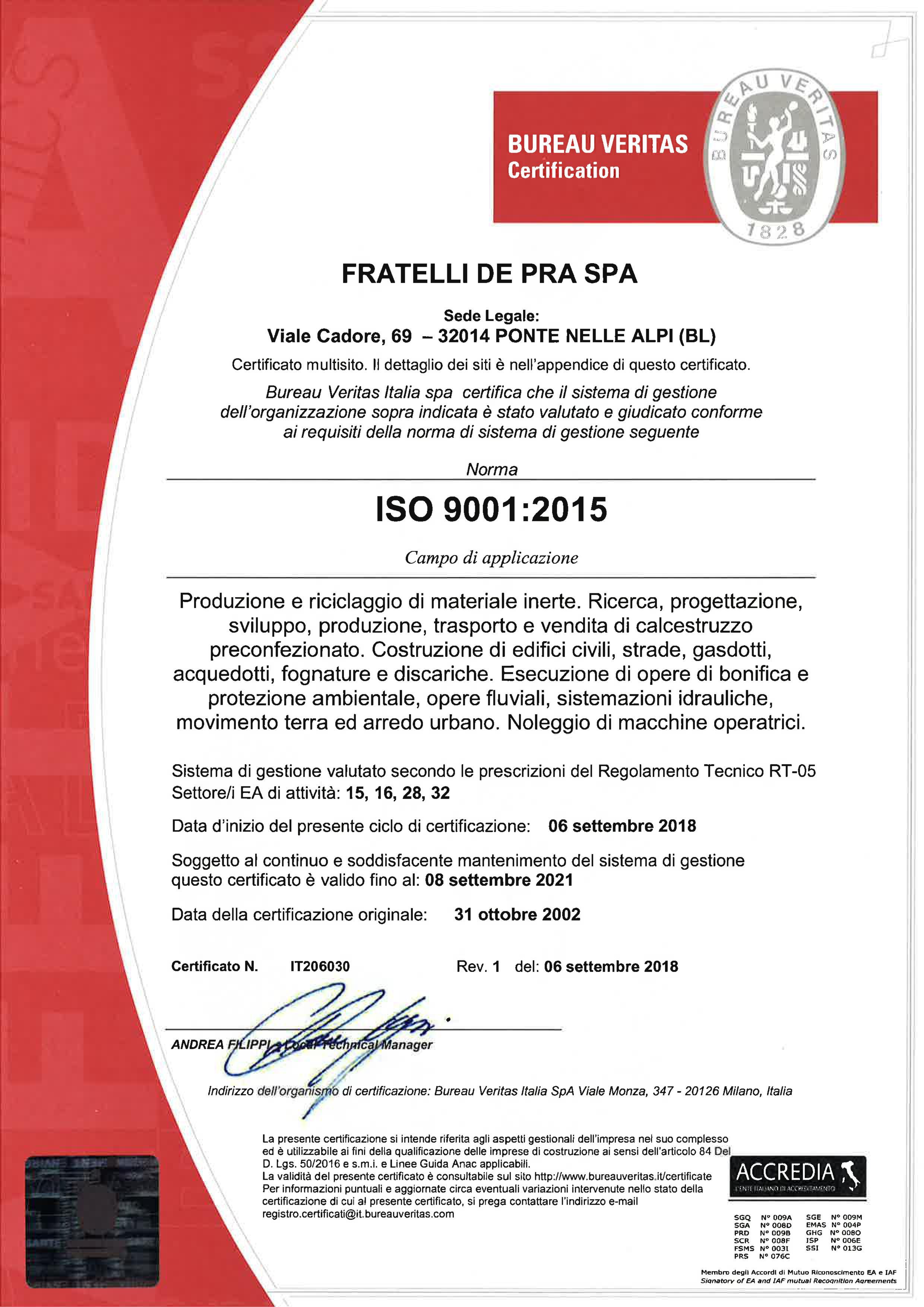 DE PRA 9001 2015 1